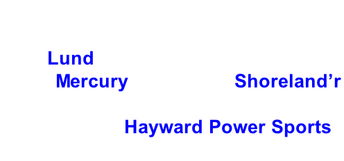 Hayward Lakes Chapter, Muskies Inc. 2018 Fall Tournament Grand Prize: 2018 Lund 1725 Pro Guide Tiller, 2018 60 hp Mercury motor and Shoreland'r Trailer.     Thank you Hayward Power Sports.