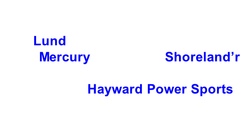 Hayward Lakes Chapter, Muskies Inc. 2016 Fall Tournament Grand Prize: 2016 Lund 1725 Pro Guide Tiller, 2016 60 hp Mercury motor and Shoreland'r Trailer.     Thank you Hayward Power Sports.