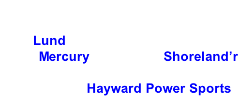 Hayward Lakes Chapter, Muskies Inc. 2017 Fall Tournament Grand Prize: 2017 Lund 1725 Pro Guide Tiller, 2017 60 hp Mercury motor and Shoreland'r Trailer.     Thank you Hayward Power Sports.